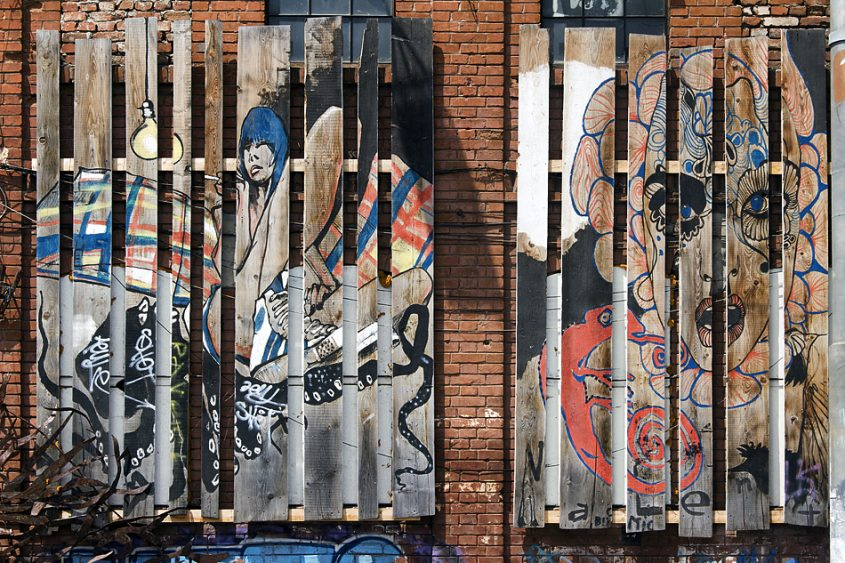 Bukarest, Fabrica, Street Art, Graffito