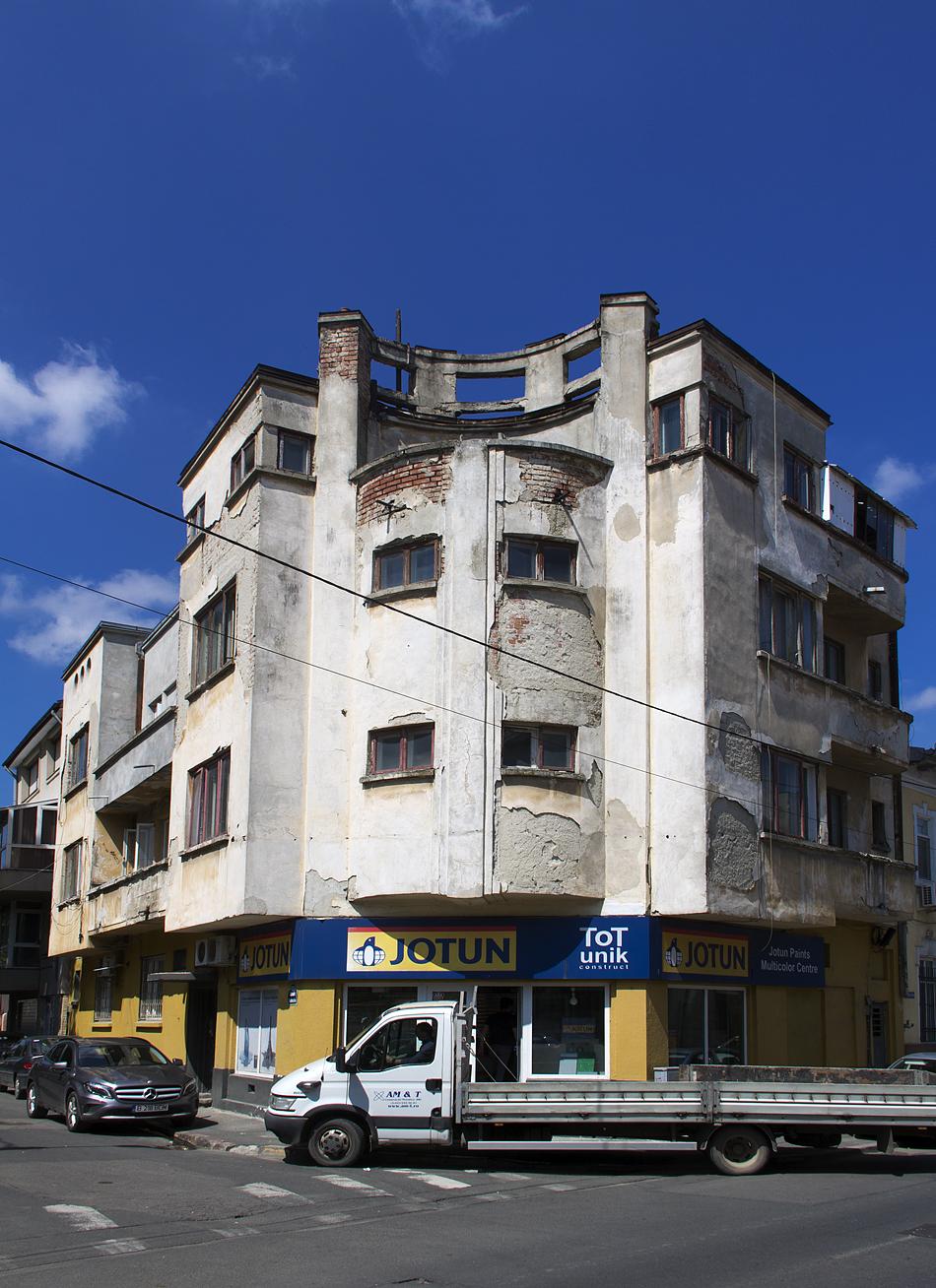 Bukarest, Strada Mitropolit Nifon, Haus, Moderne Architektur