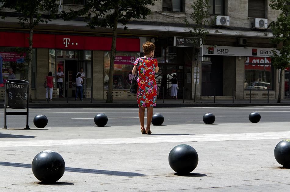 Bukarest, Bulevardul Nicolae Bălcescu
