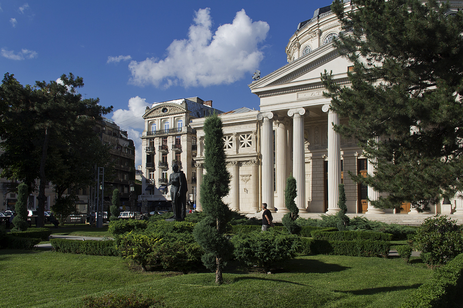 Bukarest, Architektur, Athenäum
