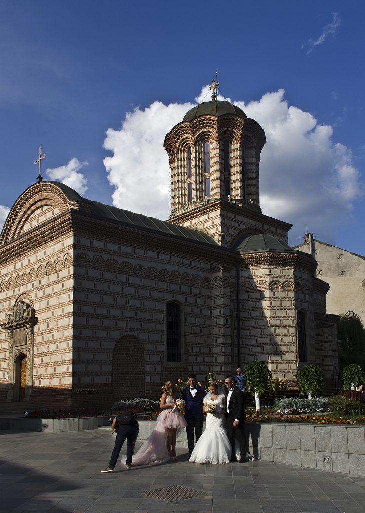 Bukarest, Hochzeit, Biserica Curtea Veche
