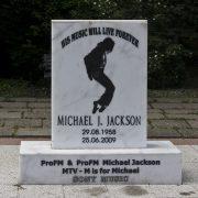 Bukarest, Michael Jackson im Parcul Kiseleff Monument