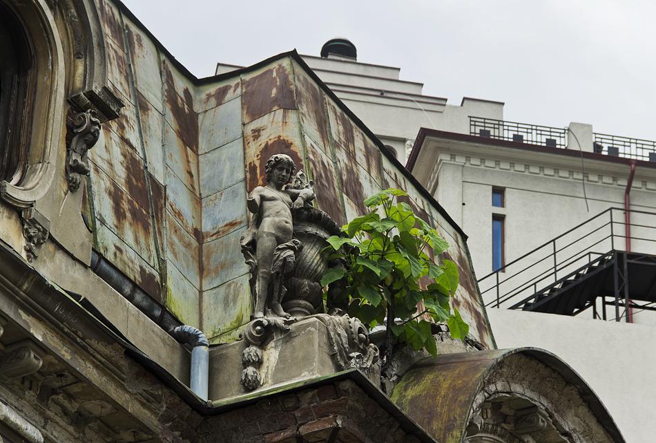 Bukarest, Ruine an der Piața Romana