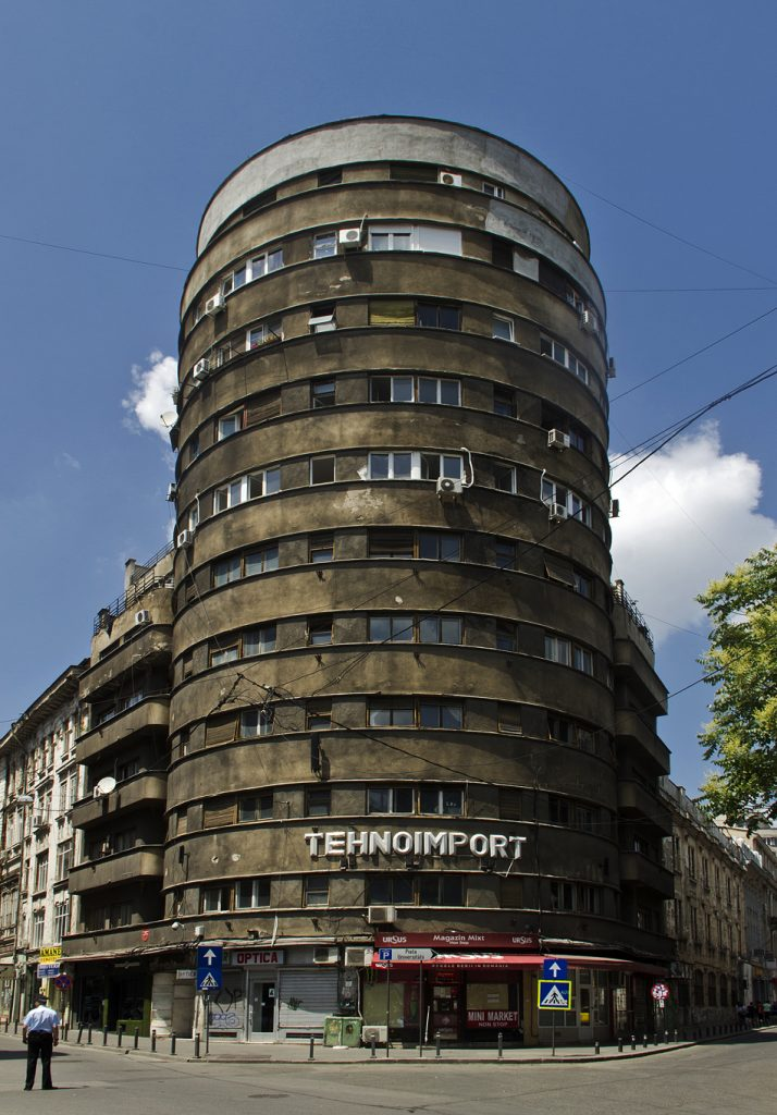 Bukarest, Architektur, Blocul Tehnoimport