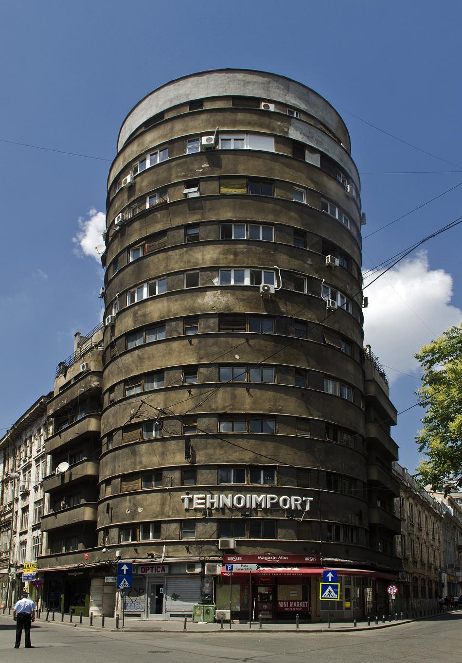 Bukarest, Architektur, Blocul Tehnoimport