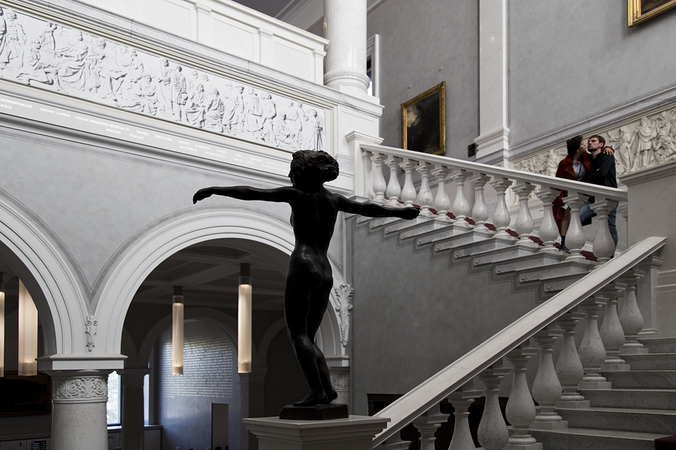 Berlin, Museumsinsel, Alte Nationalgalerie, Georg Kolbe, Tänzerin
