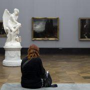 Berlin, Museumsinsel, Alte Nationalgalerie, Alte Nationalgalerie, Carl Cauer, Hexe