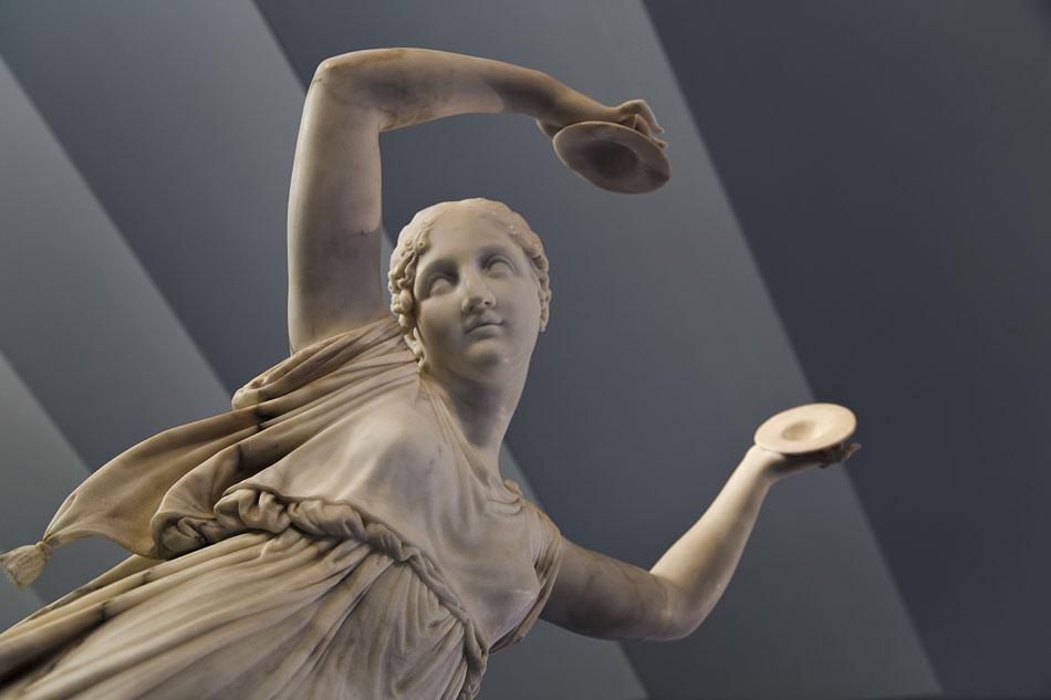 Antonia Canova, Tänzerin, Canova und der Tanz