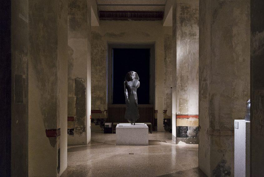 Neues Museum, Statue des König Amenhemet III.