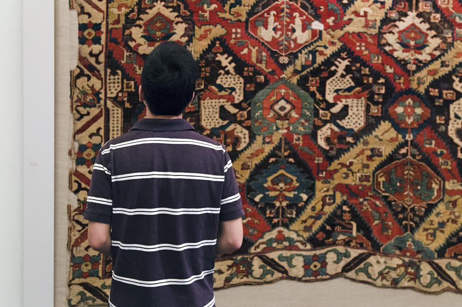 Pergamonmuseum, Kaukasus-Teppich im Museum für Islamische Kunst