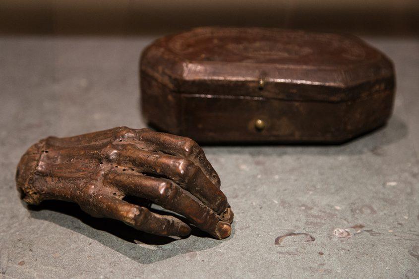 Merseburger Dom, Mumifizierte Hand von Rudolf von Schwaben