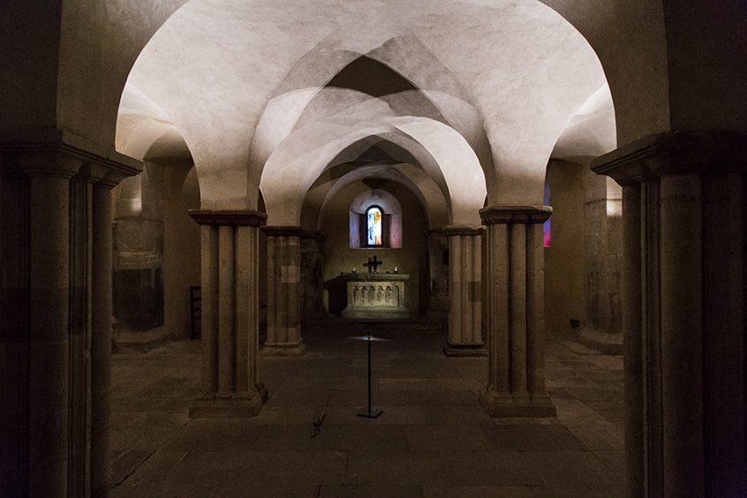 Merseburger Dom, Krypta