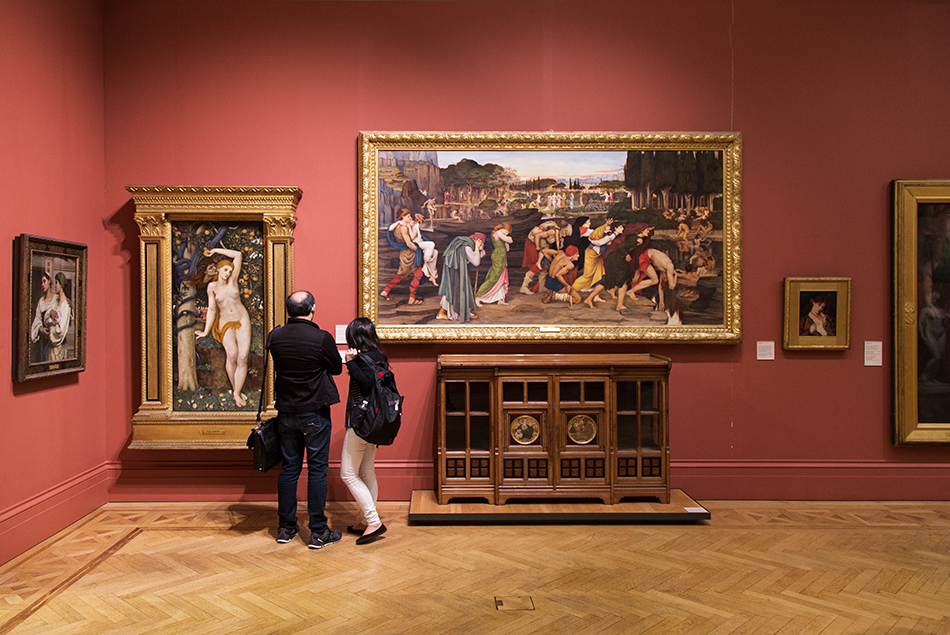 Manchester Art Gallery, John Roddam Spencer Stanhope, The Waters of Lethe by the Plains of Elysium