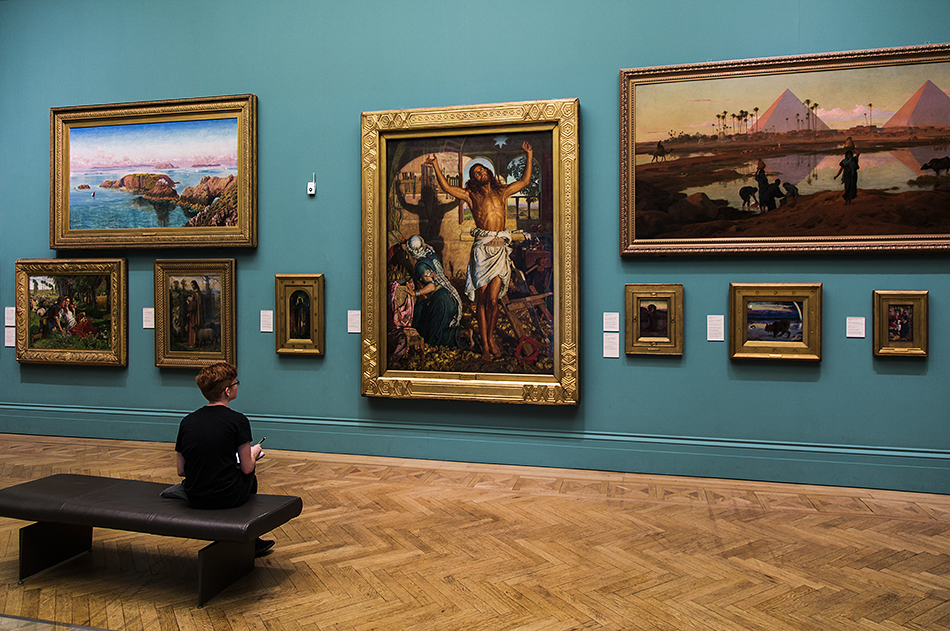 Manchester Art Gallery, William Holman Hunt, The Shadow of Death