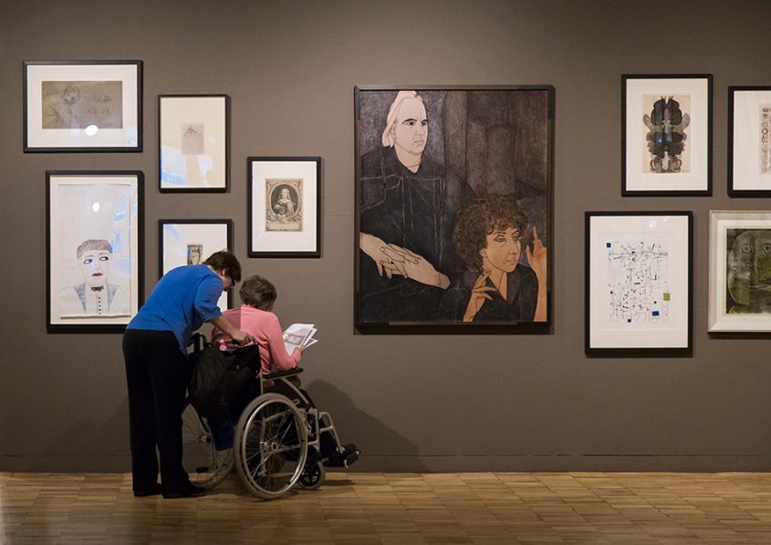 Manchester, Witworth Art Gallery, Derrick Greaves, Portrait Victor Musgrave and Monika Kinley