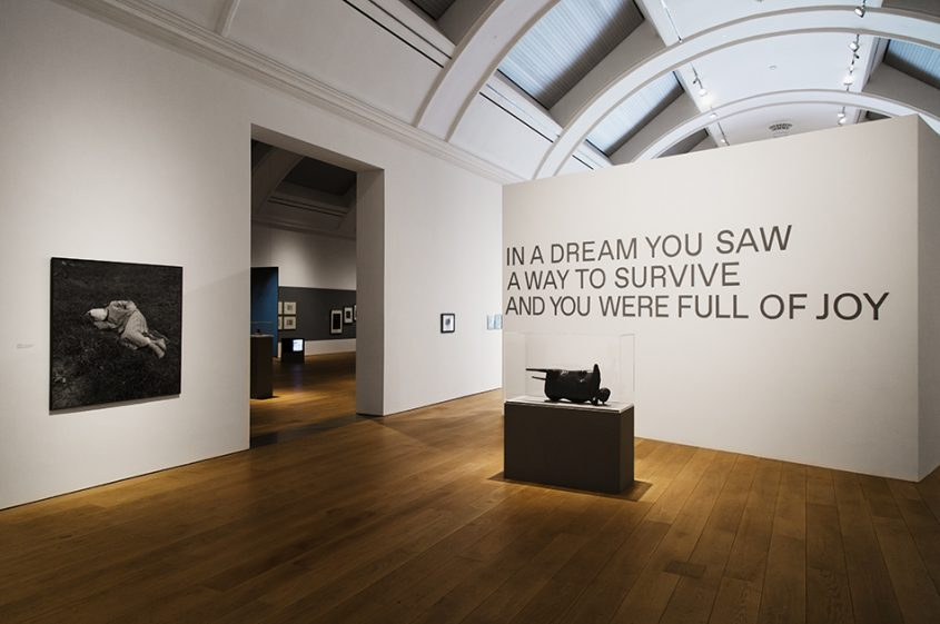 Manchester, Witworth Art Gallery, In a Dream You Saw a Way to Survive and You Were Full of Joy, curated by Elisabeth Price, Installation View