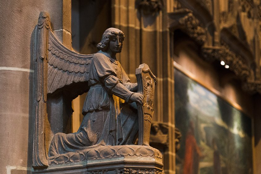 Liverpool Cathedral, Angel