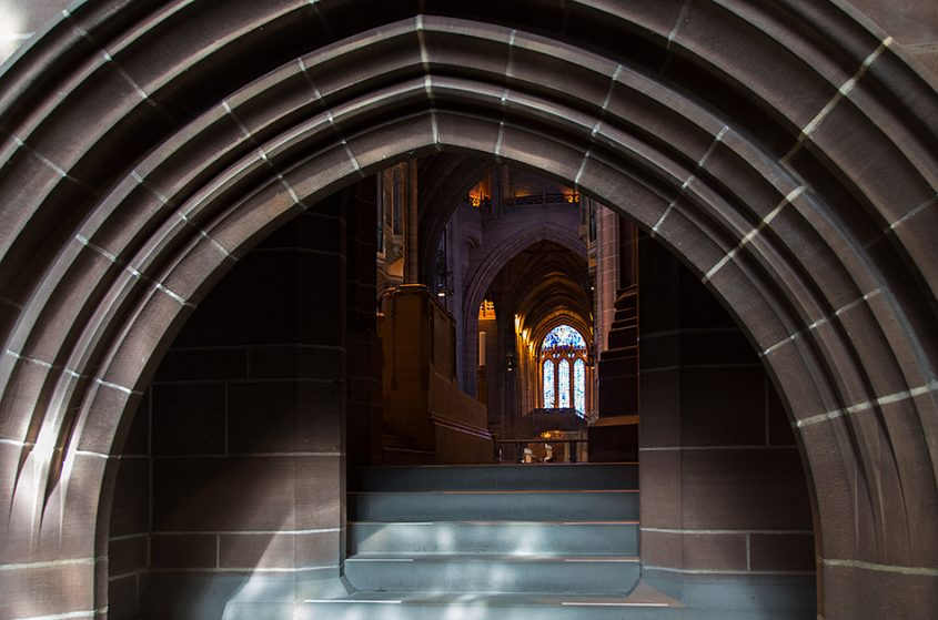 Liverpool Cathedral, Door to the Choir