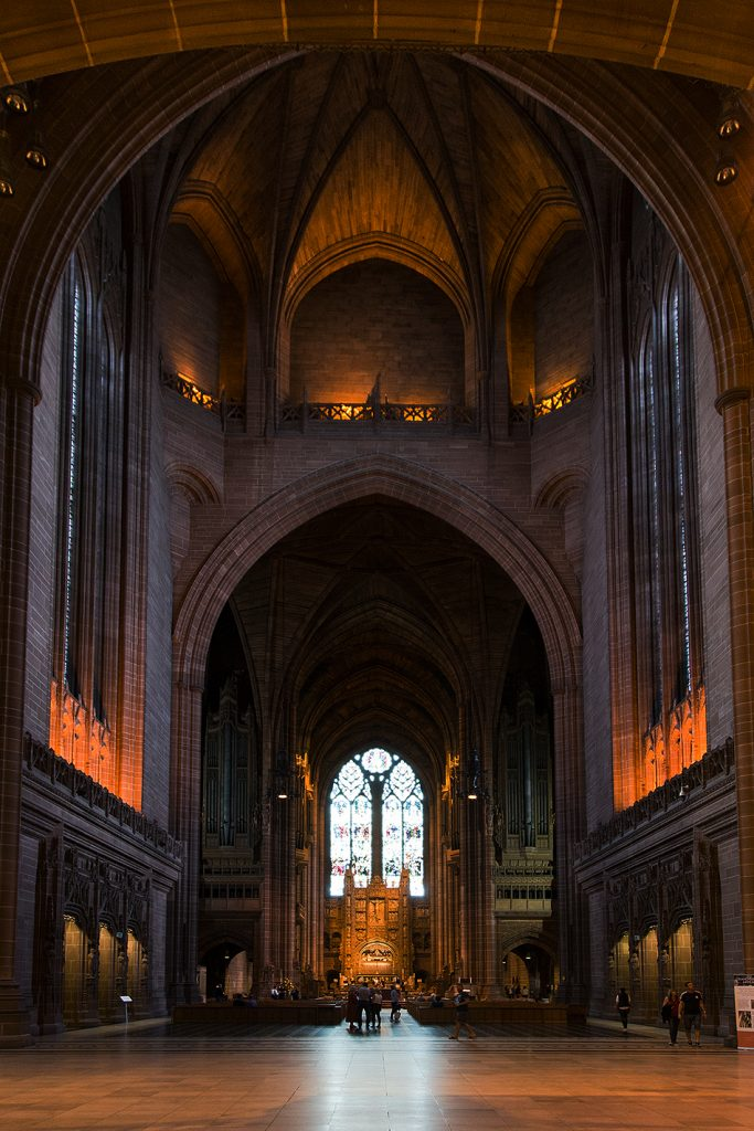 Liverpool Cathedral, Interior, Nave