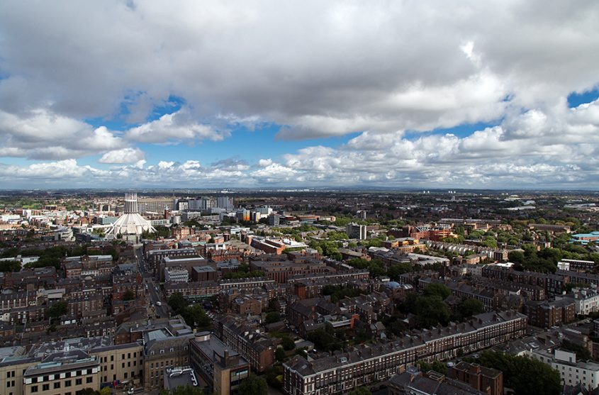 Liverpool Cathedral, Panorama