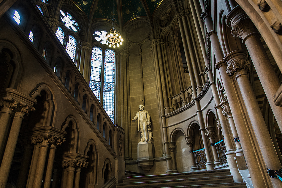 Grand Staircase at Manchester Town Hall