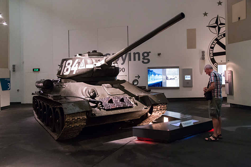 Tank, Imperial War Museum North, Main Exhibition Space