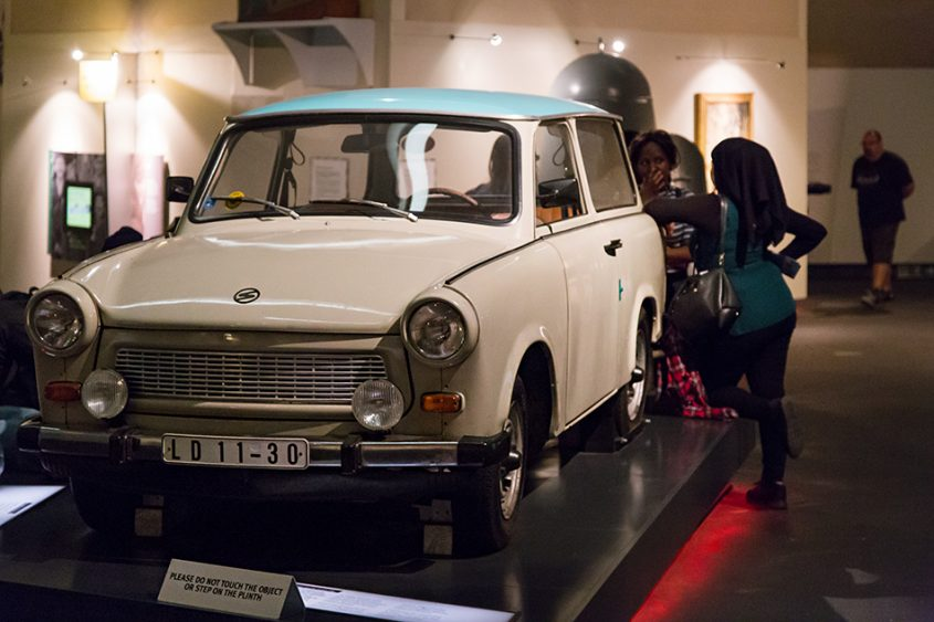 Trabant, Imperial War Museum North, Main Exhibition Space