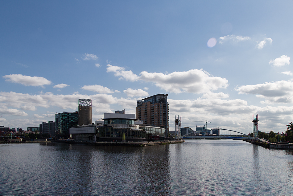 Salford, MediaCity UK, The Lowry