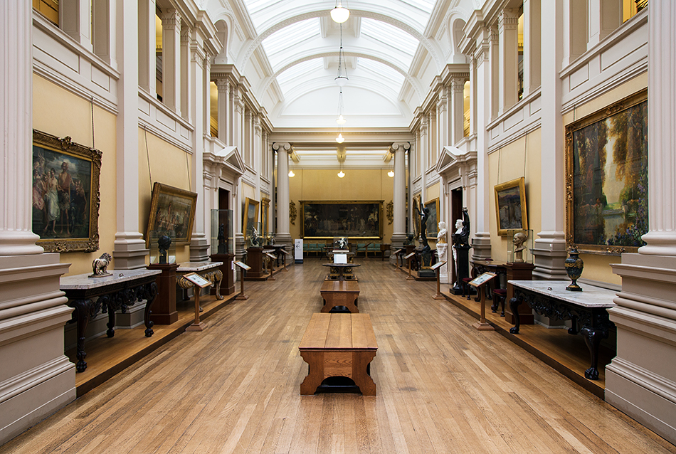 Lady Lever Art Gallery, Main Gallery