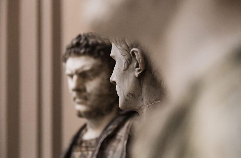Lady Lever Art Gallery, Busts of Caracalla and Caligula