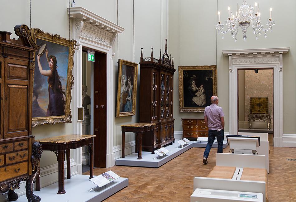 Lady Lever Art Gallery, Élisabeth- Louise Vigée-Lebrun, Lady Hamilton as a Bacchante