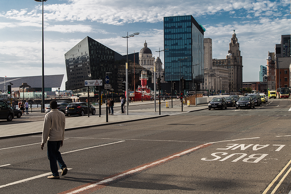 Liverpool, Strand Street and Mann Island