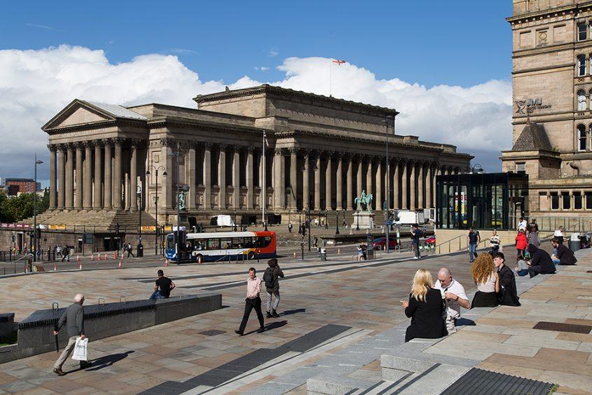 Liverpool, St George's Hall
