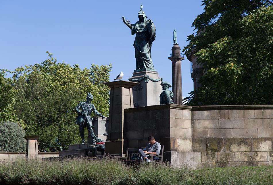Liverpool, St John's Garden