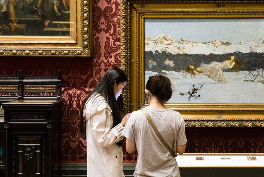 Liverpool, Walker Art Gallery, Giovanni Segantini, The Punishment of Lust