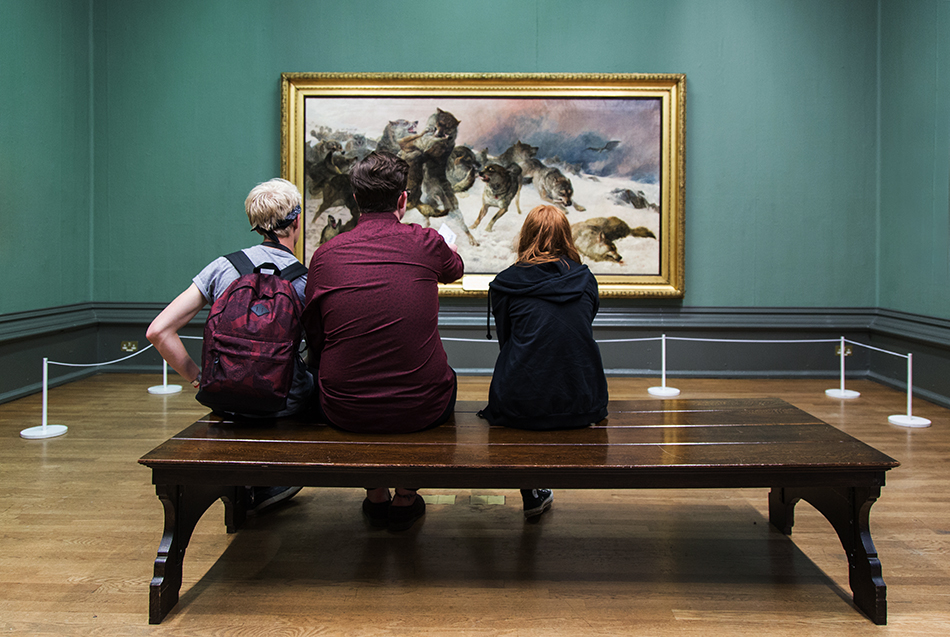 Liverpool, Walker Art Gallery, George Bouverie Goddard, The Struggle for Existence