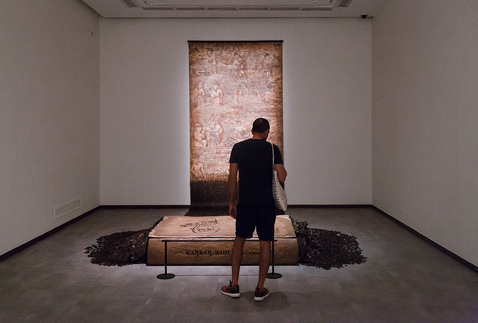 Eddy Susanto, The Journey of Panji, Singapore Biennale 2016, Fabian Fröhlich