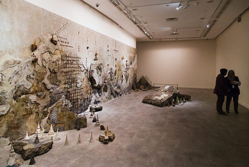 Pannaphan Yodmanee, Aftermath, Singapore Biennale 2016, Fabian Fröhlich