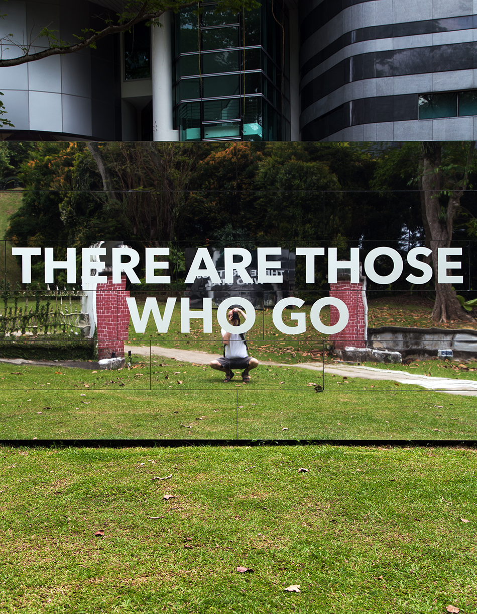There are those who stay / There are those who go, Singapore Biennale 2016, Fabian Fröhlich
