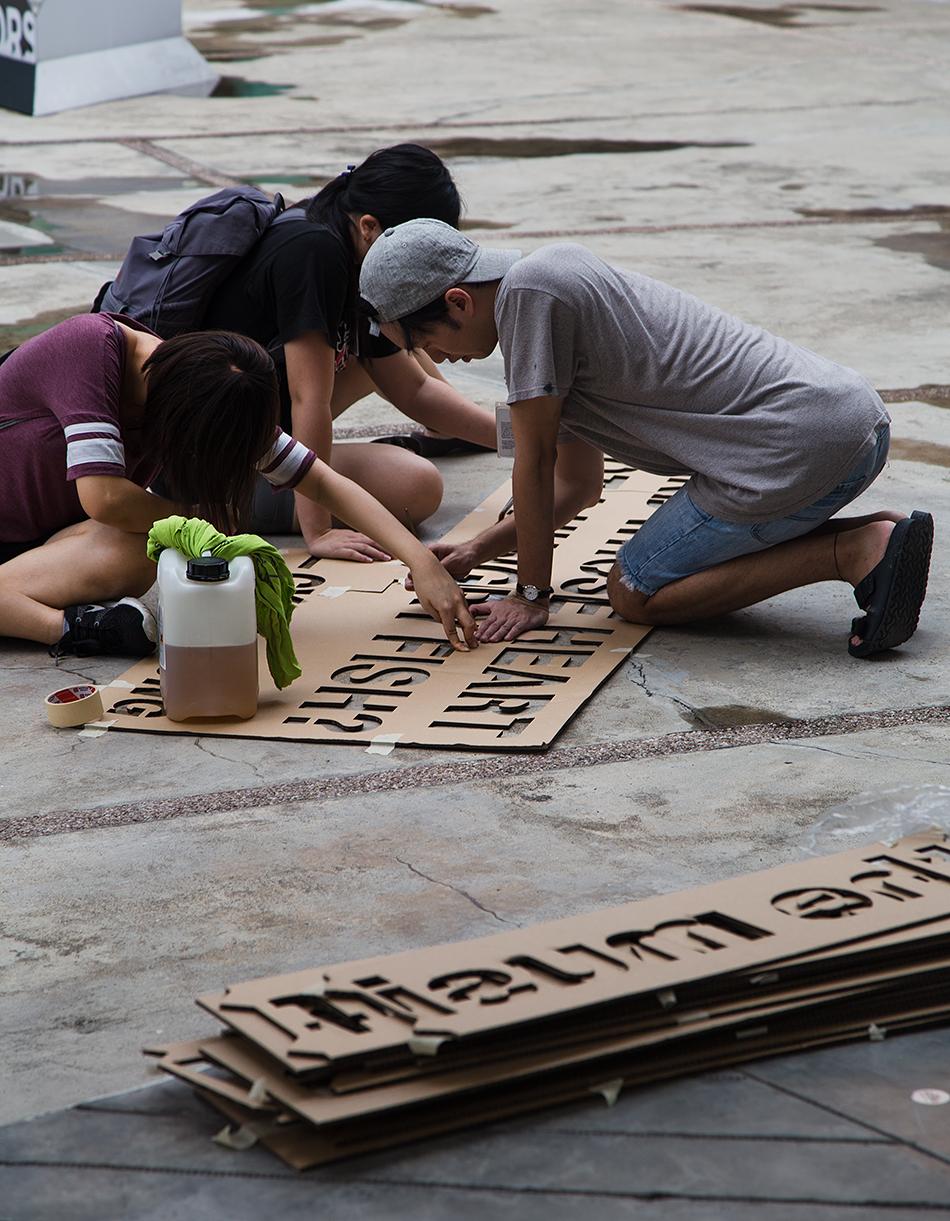 Templates, Singapore Biennale 2016, Fabian Fröhlich