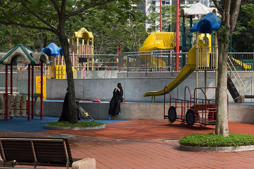 Fabian Fröhlich. Kuala Lumpur, KLCC Park