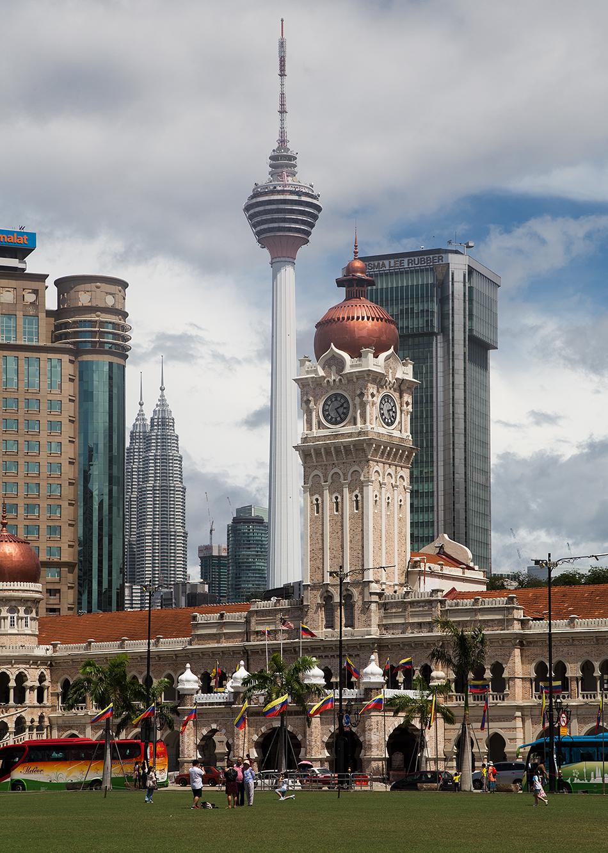 Kuala Lumpur, Merdeka Square, Towers