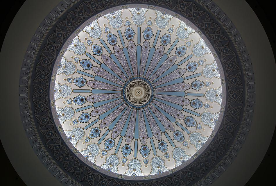 Kuala Lumpur, Ceiling Dome in the Islamic Art Museum