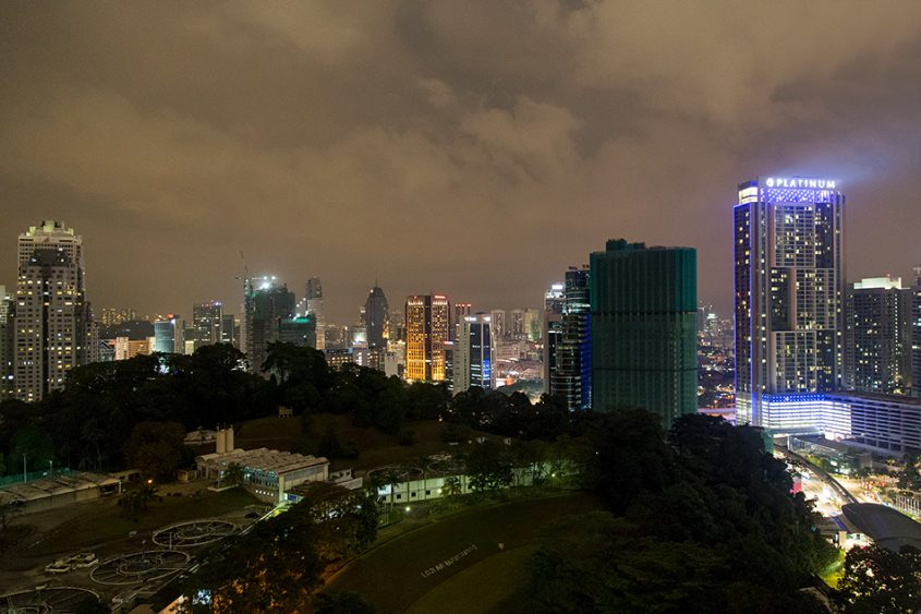 Fabian Fröhlich. Kuala Lumpur, Night