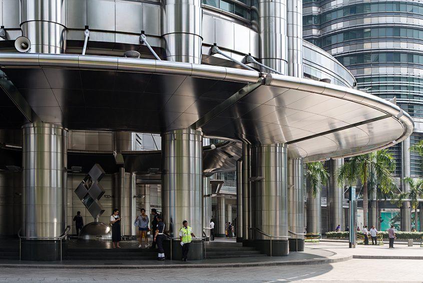 Fabian Fröhlich, Kuala Lumpur, Petronas Twin Towers, Entrance