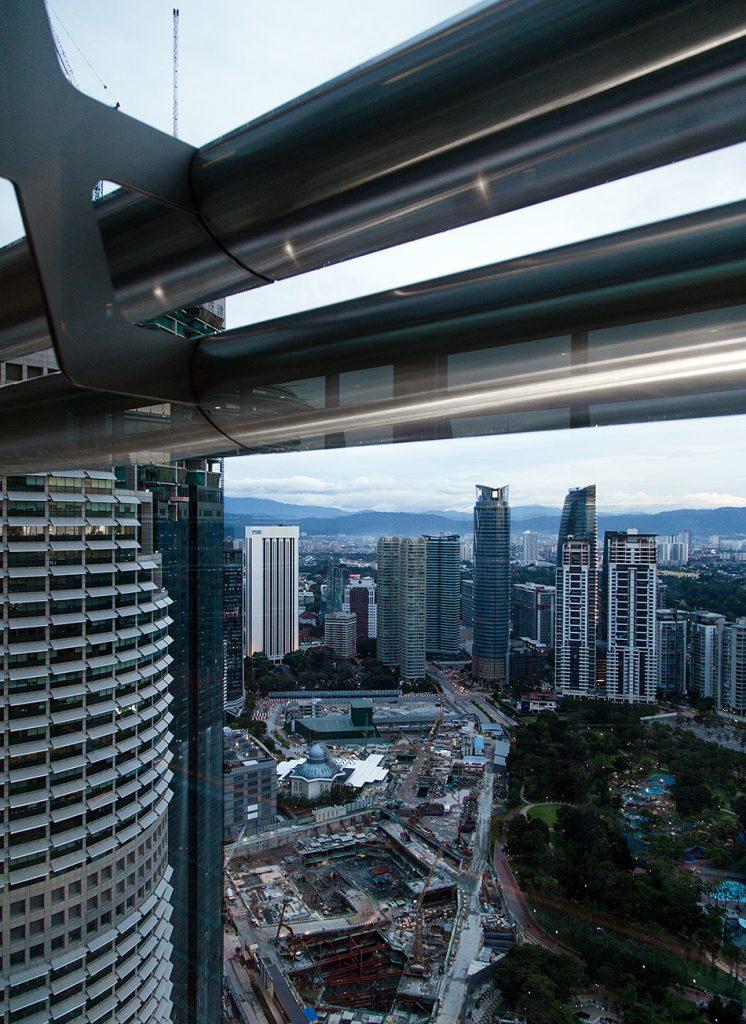 Fabian Fröhlich, Kuala Lumpur, Petronas Twin Towers, Evening