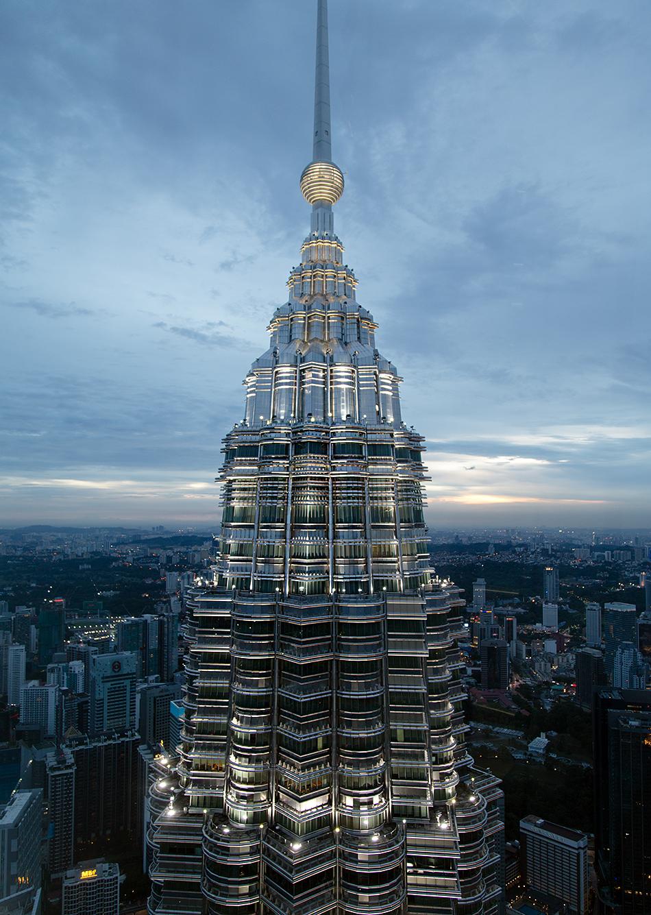 Fabian Fröhlich, Kuala Lumpur, Petronas Twin Towers, Night