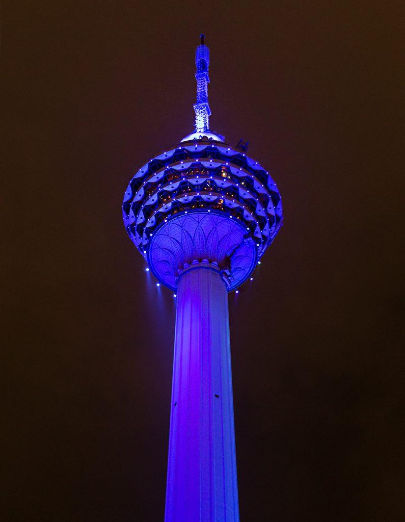 Fabian Fröhlich. Kuala Lumpur, Menara KL