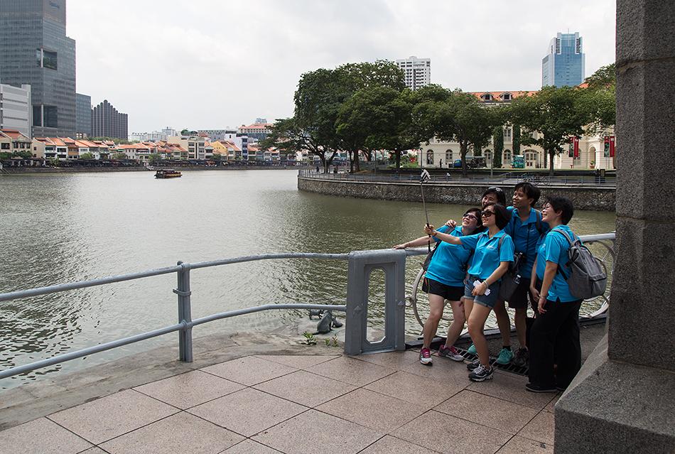 Fabian Fröhlich, Singapore River