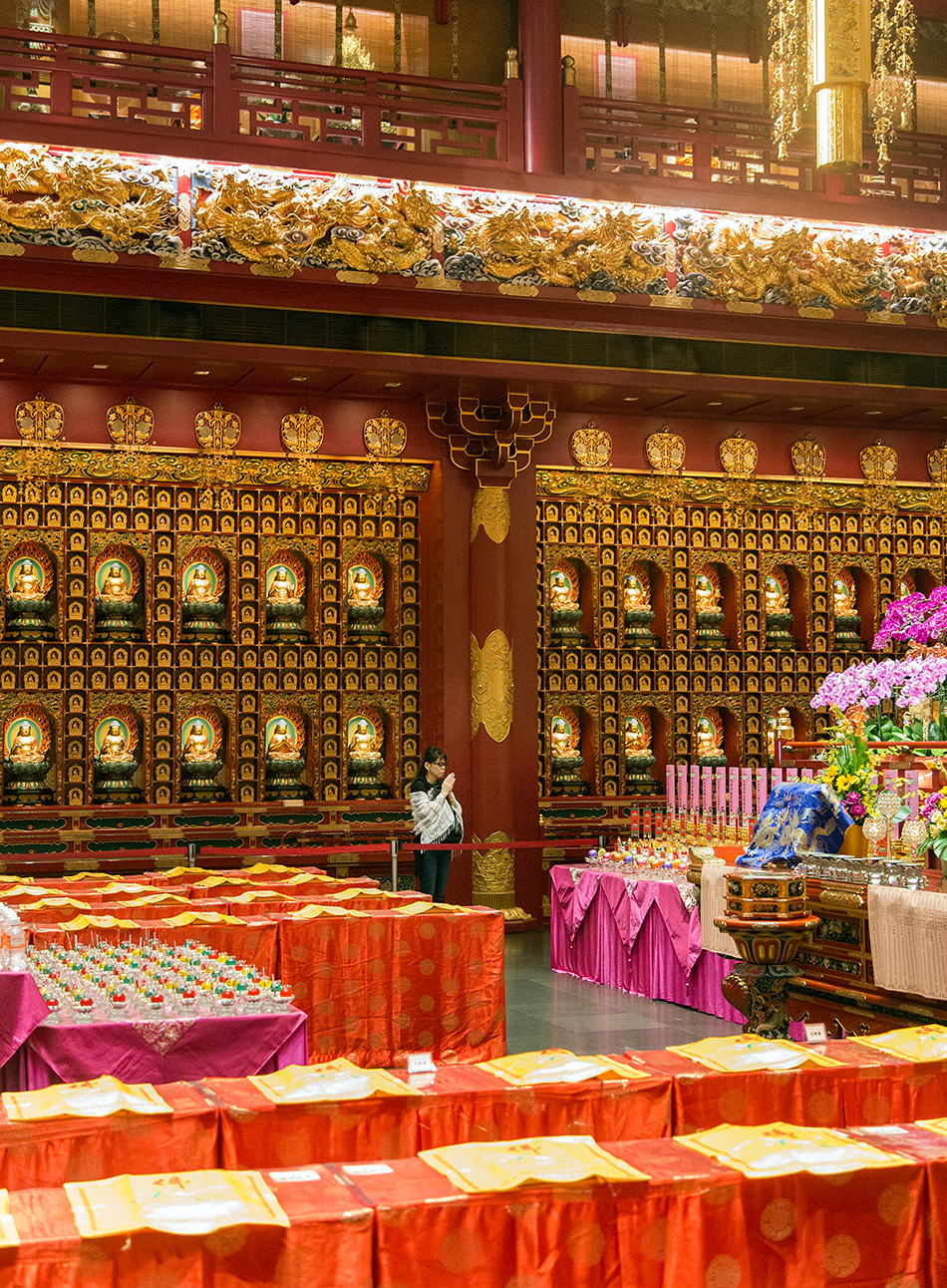 Singapore, Fabian Fröhlich, Buddha Tooth Relic Temple